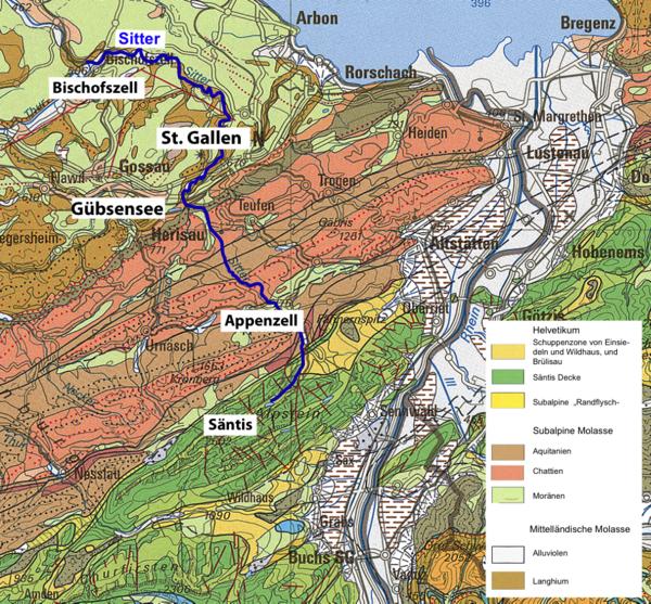 Geologische Karte